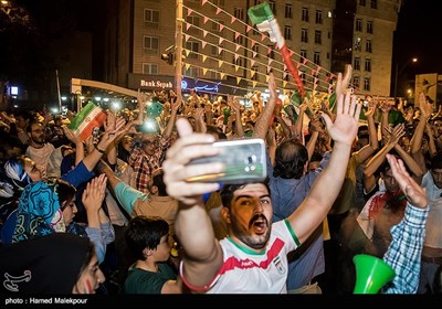 Iranians Rejoice at Team Melli's World Cup Win over Morocco
