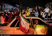 Iranians Flock to Streets after World Cup Win against Morocco