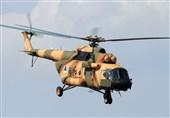 سقوط بالگرد ارتش در جنوب افغانستان