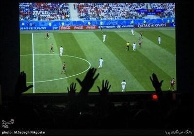 تماشای بازی تیم ملی فوتبال ایران مقابل مراکش-کرج