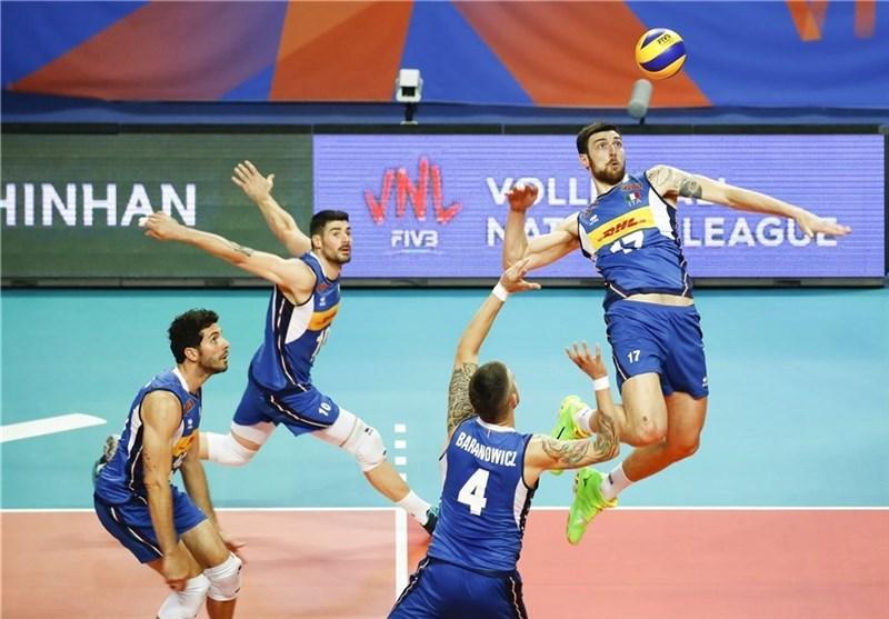 والیبال قهرمانی جهان|پیروزی ایتالیا و بلغارستان در دیدارهای افتتاحیه
