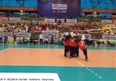 والیبال قهرمانی جوانان دختر آسیا| ایران مغلوب میزبان شد