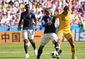 جام جهانی 2018| نیمه نخست جنگ سرد استرالیا و فرانسه برنده نداشت