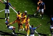 جامجهانی 2018| دیدار تیمهای فوتبال فرانسه و استرالیا به روایت تصاویر