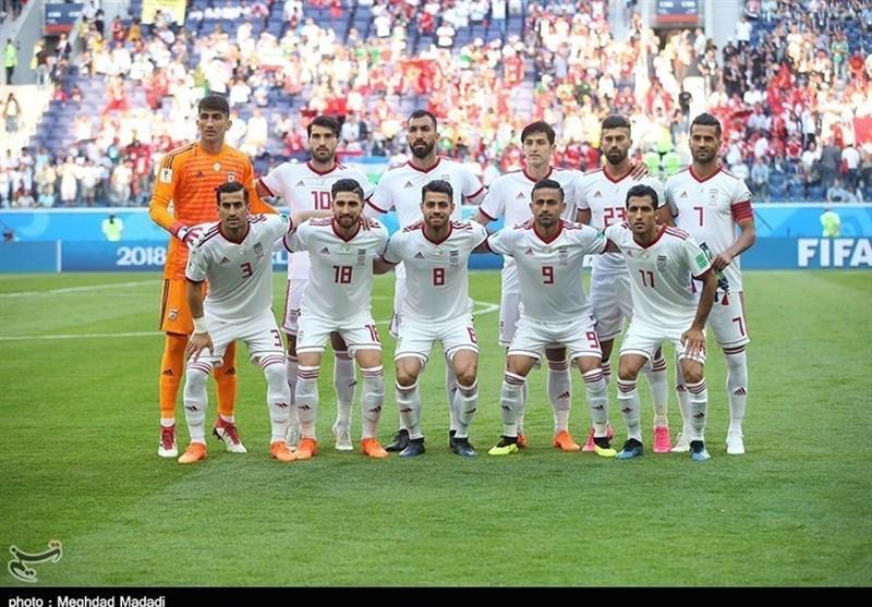 جام جهانی 2018| صعود 7 پلهای ایران در ردهبندی پایان دور اول