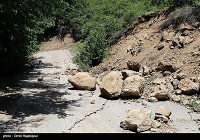 خسارات سیل در اشکورات رودسر - گیلان