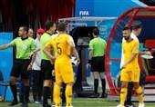 """تقنیات """"الفیفا"""" تظهر فی أول مباراة بالموندیال الروسی"""