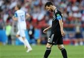 میسی یفشل فی قیادة الأرجنتین لأول فوز فی الموندیال