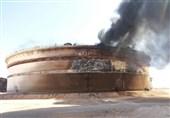 تحولات لیبی| مخزن بزرگ نفتی همچنان در آتش میسوزد؛ افراد مسلح در درنه محاصره شدند