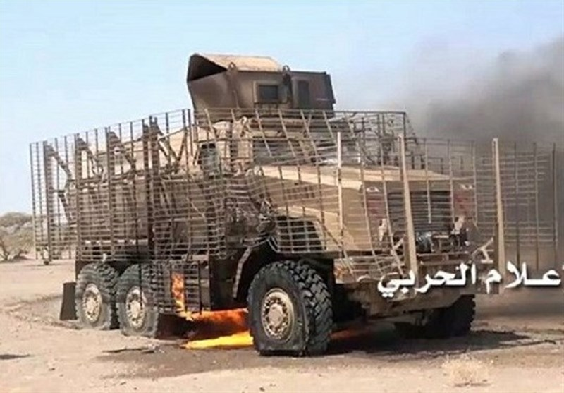 تحولات یمن| قطع خطوط کمکرسانی به متجاوزان و هدف قرار گرفتن انبار تسلیحات آنها؛ به غنیمت گرفته شدن 10 خودروی نظامی