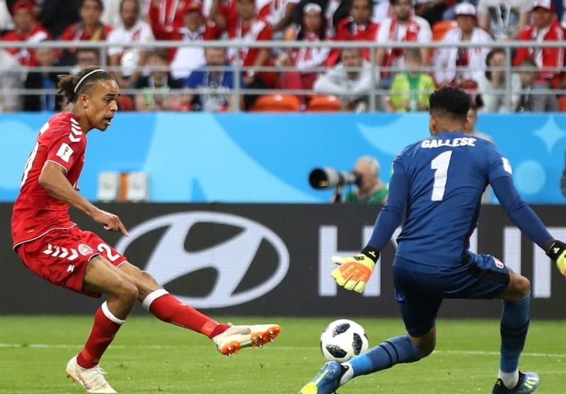 FIFA World Cup: Peru 0-1 Denmark