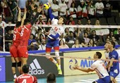 Iran Loses to Serbia in VNL