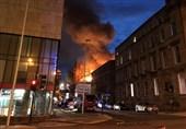 ألسنة النار تلتهم مدرسة تاریخیة فی اسکتلندا