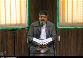 سعید رحمانی قاری بینالمللی قرآن کریم در کرسی تلاوت تسنیم
