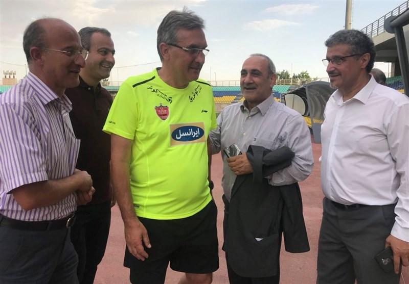 رضایت برانکو از امکانات و وضعیت ورزشگاه شهید کاظمی