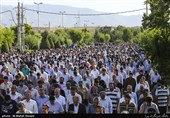 350 امامزاده مازندران میزبان نمازگزاران عید سعید فطر است