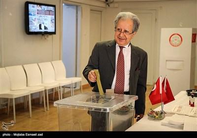انتخابات ریاست جمهوری ترکیه در کنسولگری ترکیه در ارومیه