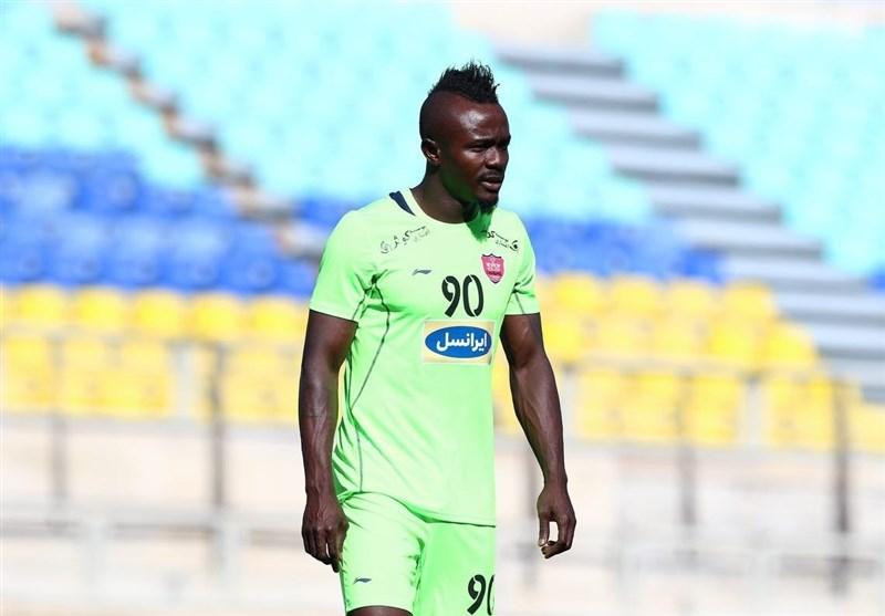 Nigerian Striker Godwin Mensha Linked with Esteghlal