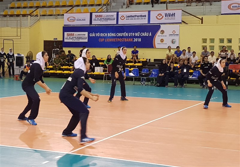 Paykan Sixth at Asian Women's Club Volleyball C'ship
