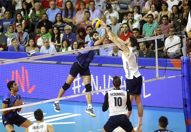 لیگ ملتهای والیبال|شکست شاگردان کولاکوویچ مقابل آمریکا در روزی که معروف «پاسور» نبود/ ایران از صعود به فینال بازماند