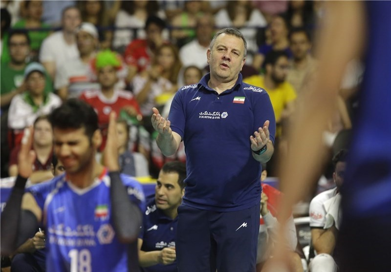 Igor Kolakovic Not Satisfied with Iran Young Players against USA