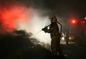 آتشسوزی گسترده در یک پاساژ در خیابان امیرکبیر/ نجات 25 نفر