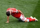 جام جهانی 2018| مهاجم روسیه دیدار با مصر و اروگوئه را از دست داد