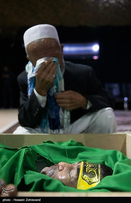 مراسم وداع با شهید مدافع حرم فاطمیون مصطفی یعقوبی