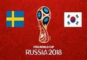 جام جهانی 2018| ترکیب اصلی سوئد و کرهجنوبی اعلام شد