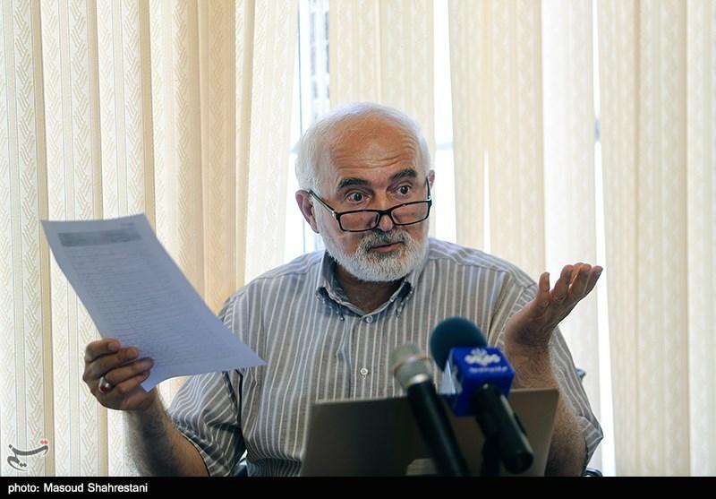 نشست خبری احمد توکلی
