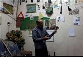 خوزستان| کلکسیون خانگی جانباز اعصاب و روان دزفولی