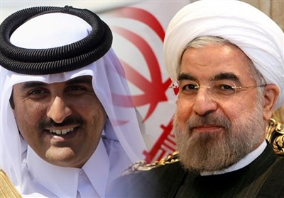 Iran's President, Qatar's Emir Discuss Bilateral, Regional Issues