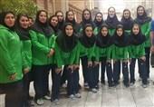 بازگشت تیم والیبال جوانان دختر کشورمان به ایران