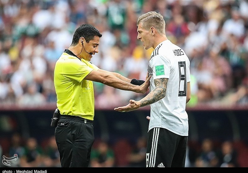 Iran's Alireza Faghani to Officiate France vs Argentina Match