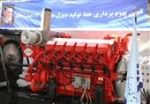 خط تولید موتور دیزل ملی افتتاح شد