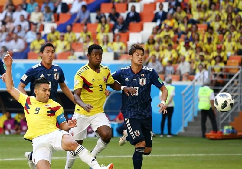 برتری آماری ژاپن در جدال با کلمبیا