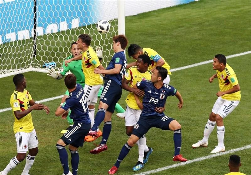 الیابان تفجر المفاجأة وتفوز على کولومبیا