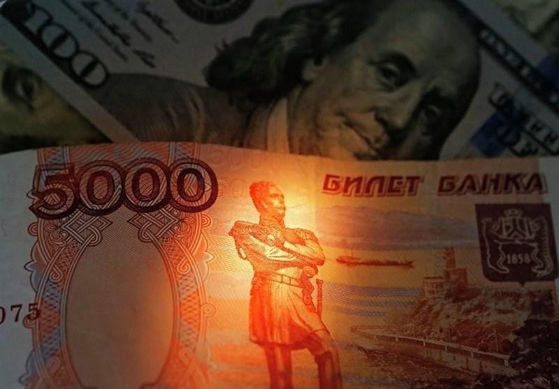 کاهش ارزش دلار در برابر روبل روسیه