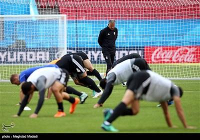 تصاویر/ آخرین تمرین تیم ملی فوتبال پیش از دیدار با اسپانیا