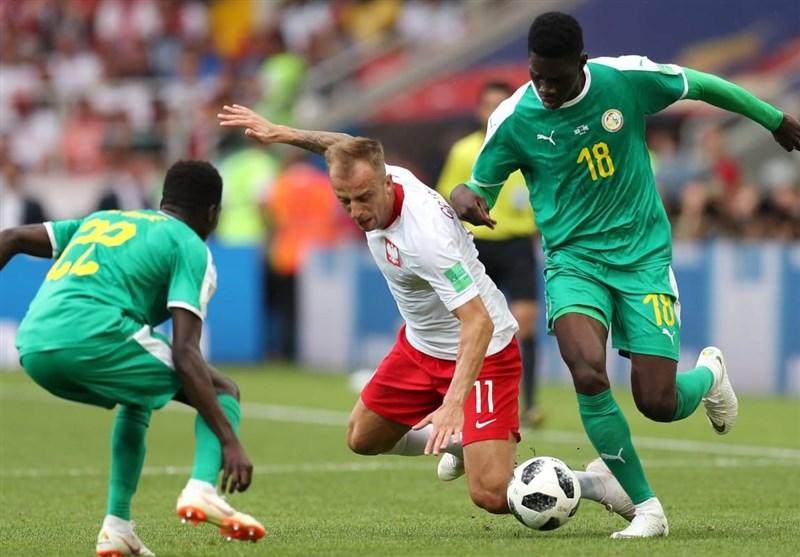 عکس: بازی سنگال مقابل لهستان (جام جهانی 2018)