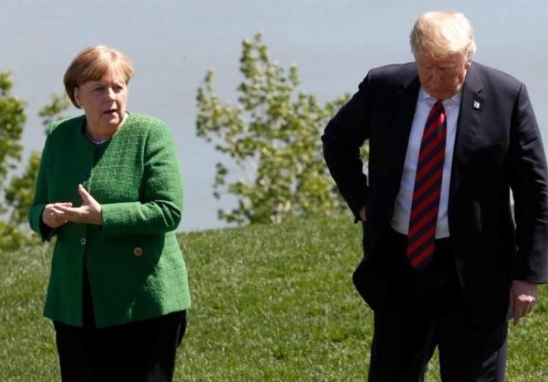 دست رد صدر اعظم آلمان به سینه ترامپ