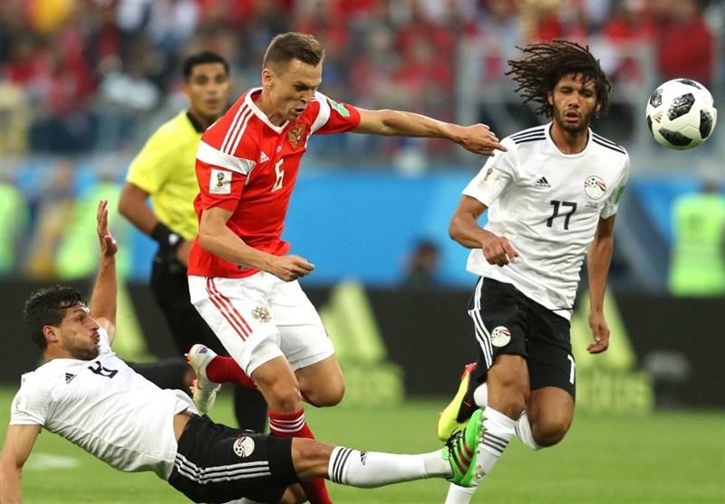 عکس: دیدار روسیه مقابل مصر (جام جهانی 2018)