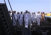 بازدید دریادار خانزادی از ایستگاه اطلاعاتی نیروی دریایی ارتش + عکس