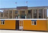 کرمانشاه| فعالیت ادارات شهرستان سرپل ذهاب در کانکس
