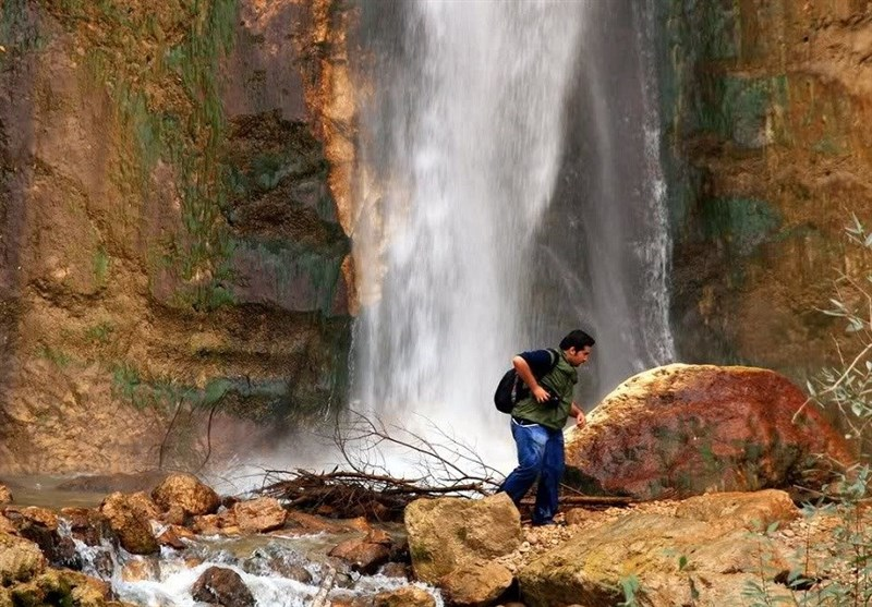 Shahan Dasht Waterfall: A Waterfall in Amol, North of Iran