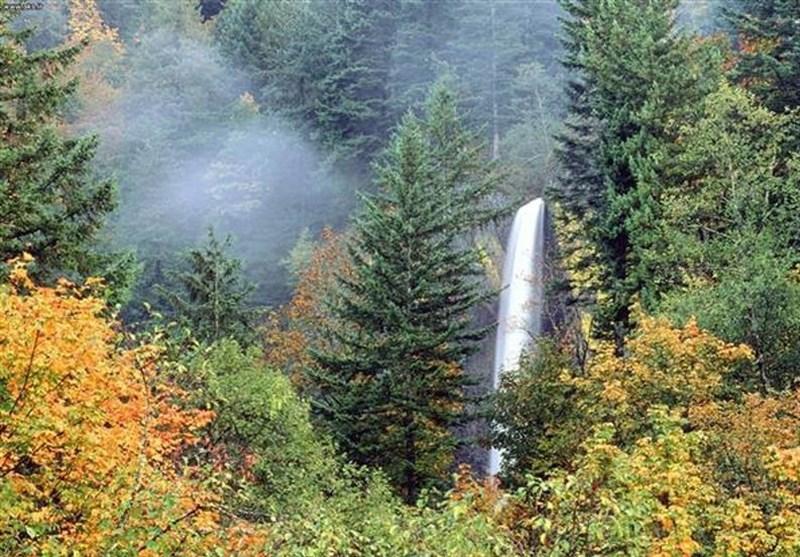 Shahan Dasht Waterfall: A Waterfall in Amol, North of Iran
