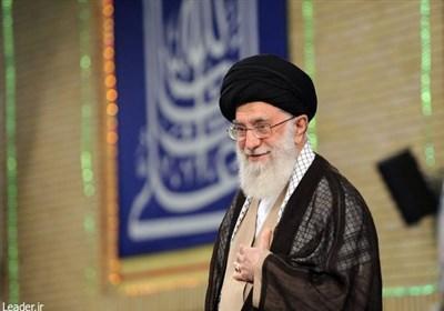 سماحة قائد الثورة الإسلامیة یستقبل رئیس ونواب مجلس الشورى الإسلامی