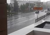 گزارش خبرنگار اعزامی تسنیم از روسیه|باران سیلآسا در آستانه دیدار ایران - اسپانیا