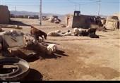 خراسان جنوبی  زخم خشکسالی بر پیکر منطقه مرزی چاه عشایری بخش درح+تصاویر