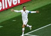 جامجهانی 2018| رونالدو بهترین بازیکن دیدار پرتغال و مراکش شد